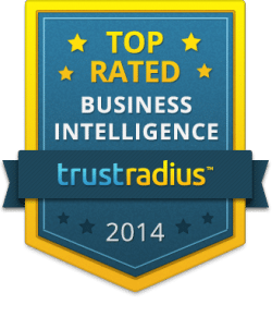 TrustRadius Business Intelligence Top Rated Badge